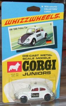 Picture Gallery for Corgi Juniors 3 VW 1300 Police Car