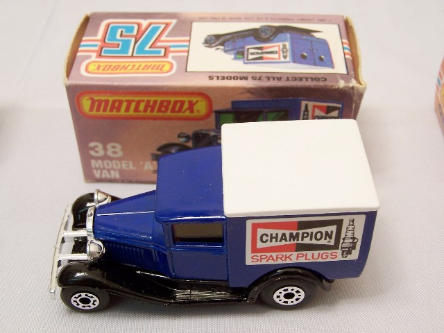 Details about  /Matchbox Special Edition #76 Model A Ford