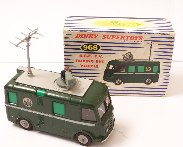 Picture Gallery for Dinky 968 BBC TV Roving Eye Vehicle