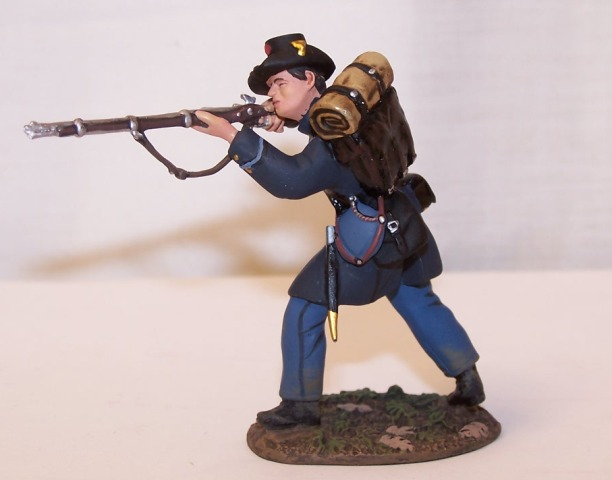 W Britain 31204 Union Infantry Side Drummer No.1