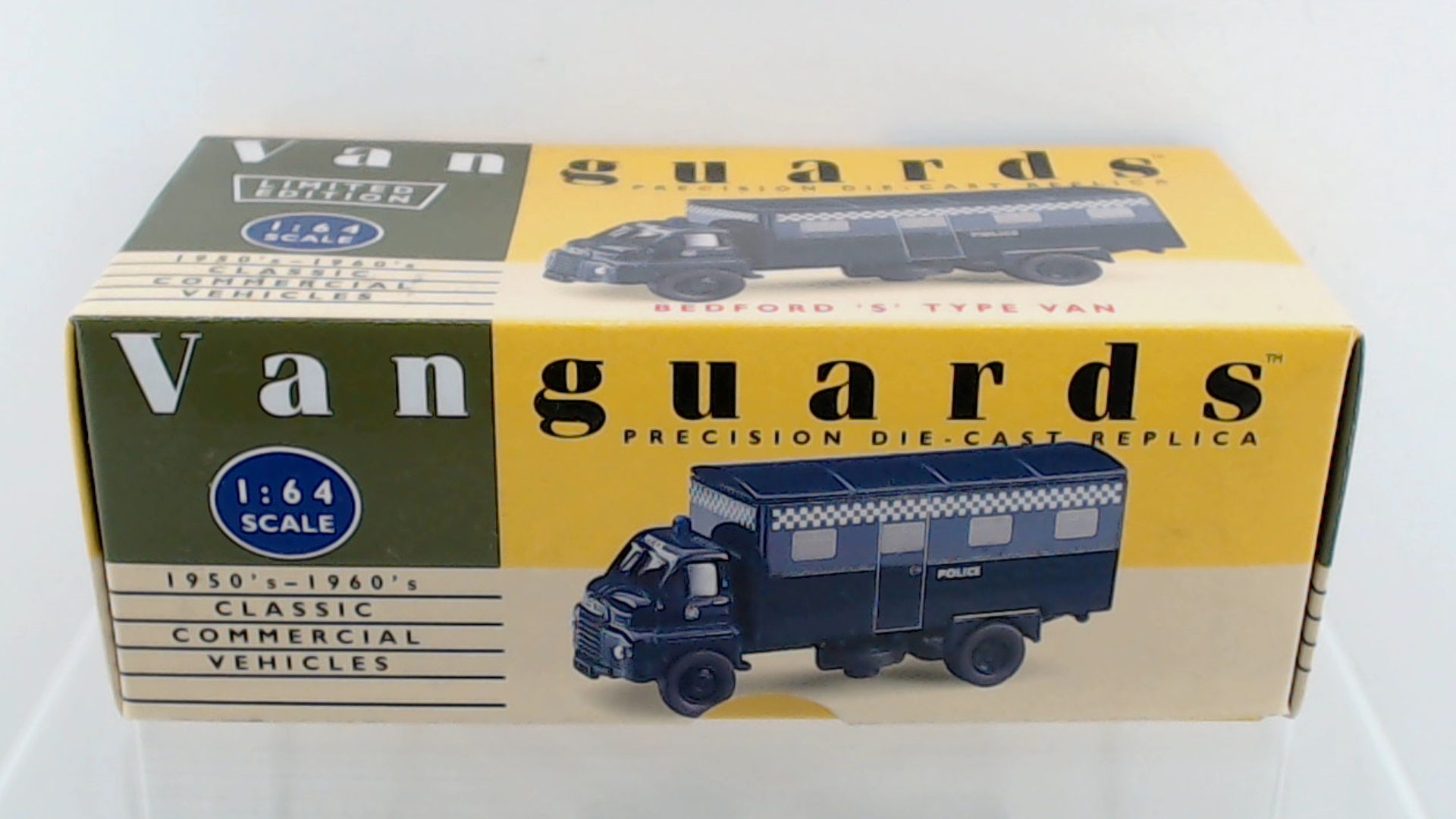 1:43 Ixo Bedford TJ 6S Maes Pils 1965 yellow//blue