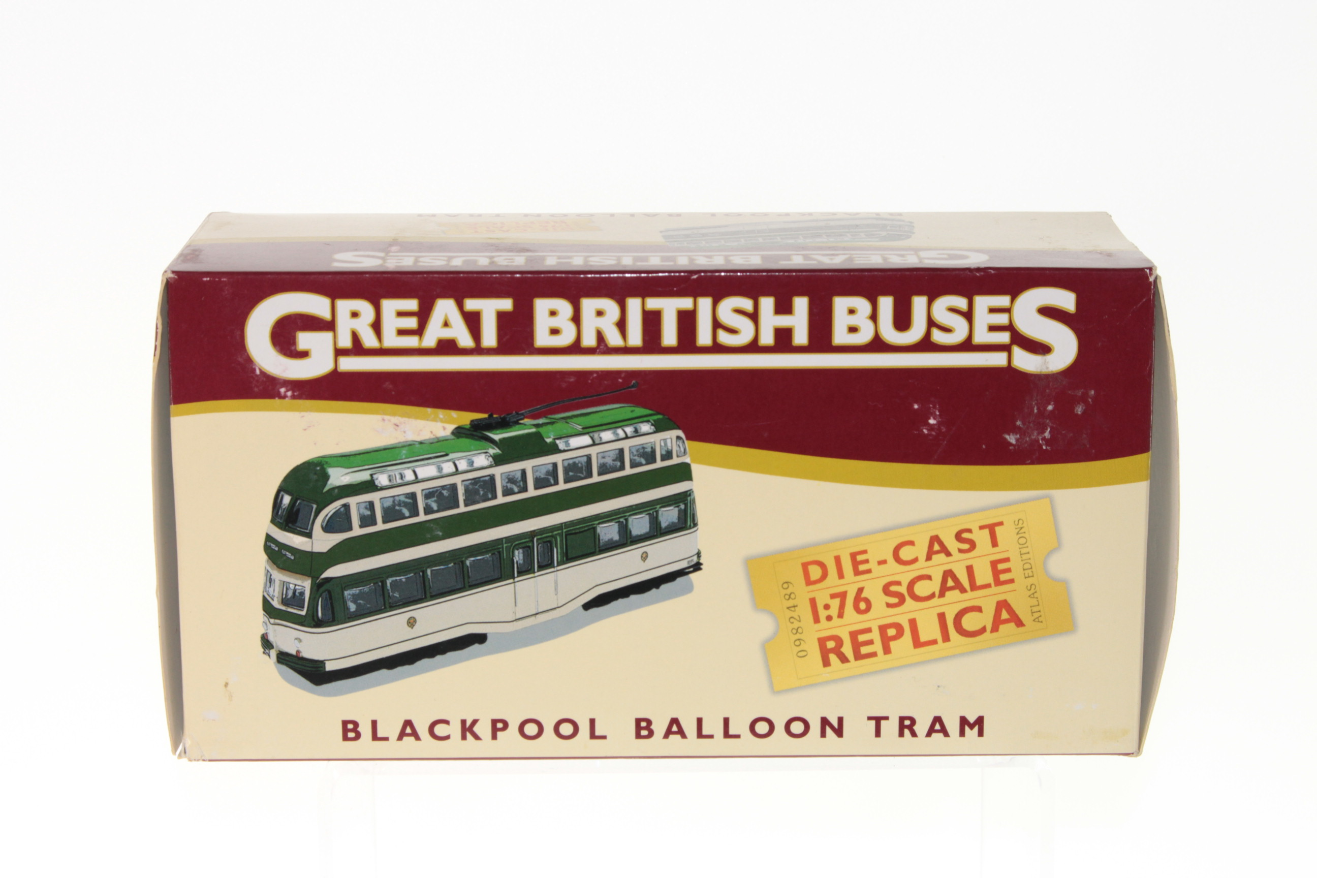 Picture Gallery for Atlas Editions 4655113 Blackpool Balloon Tram
