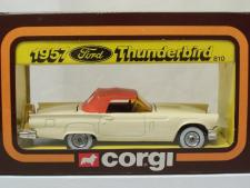 CORGI TOY REPRO BOX ONLY FOR NO 215S FORD THUNDERBIRD OPEN SPORTS