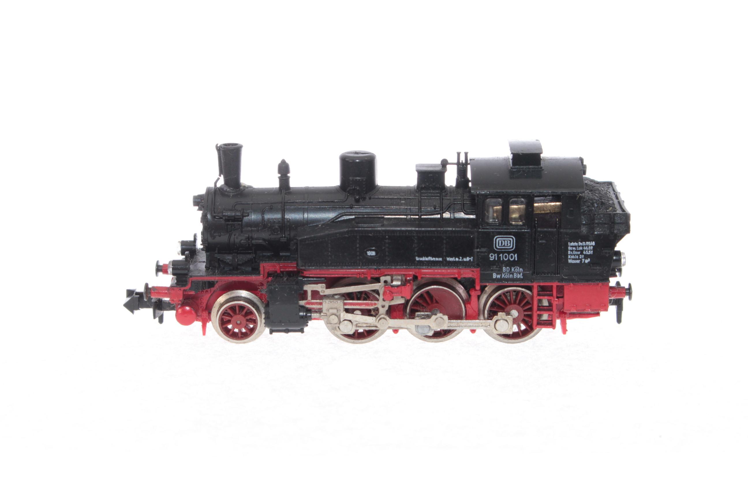 Picture Gallery for Fleischmann 7030 2-6-0 Tank Engine