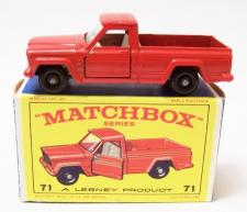Picture Gallery for Matchbox 71b Jeep Gladiator Pick Up