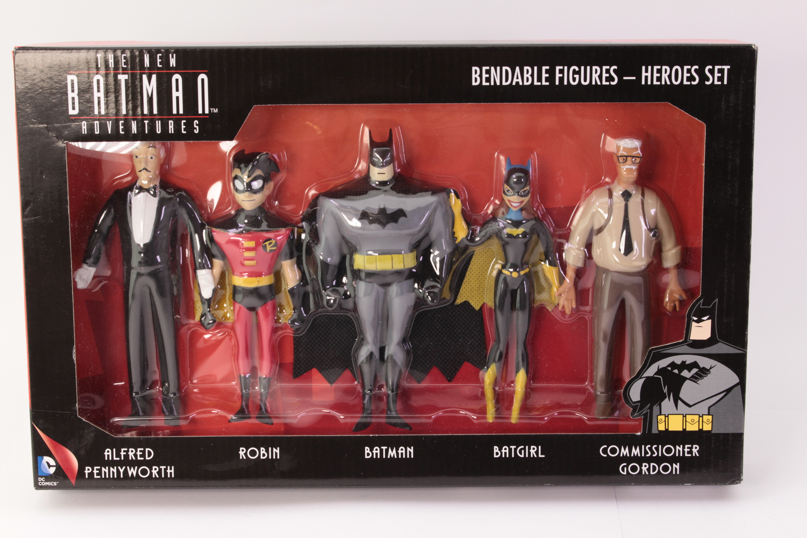 Picture Gallery for NJ Croce DC3940 Animated Heroes Set