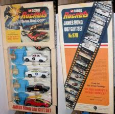 Picture Gallery for Corgi Rockets 978 OHMSS Gift Set