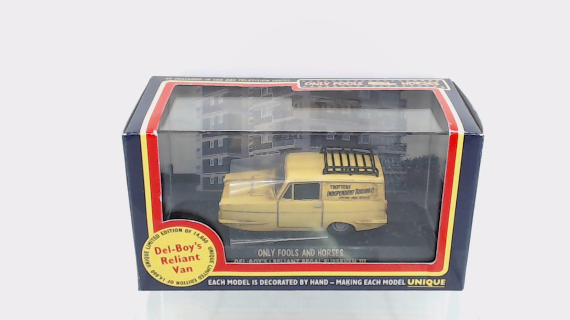 176 76rel001 Gauge New Oxford Die Cast 1:76 Scale Aa Reliant Regal Supervan