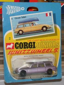 Picture Gallery for Corgi Juniors 2 Citroen Safari with Boat