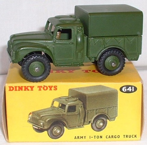 dinky military army bedford 3ton  supply vehicle
