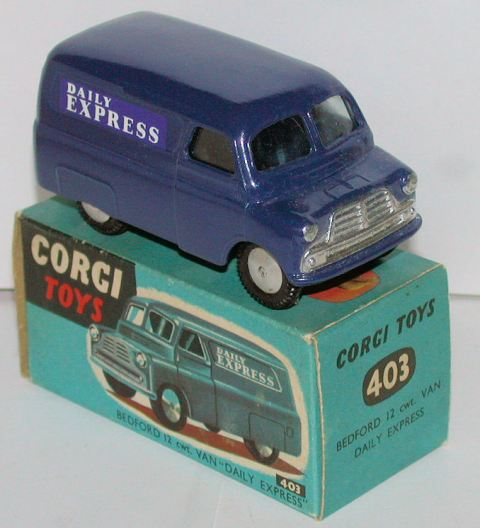 Picture Gallery for Corgi 403 Bedford