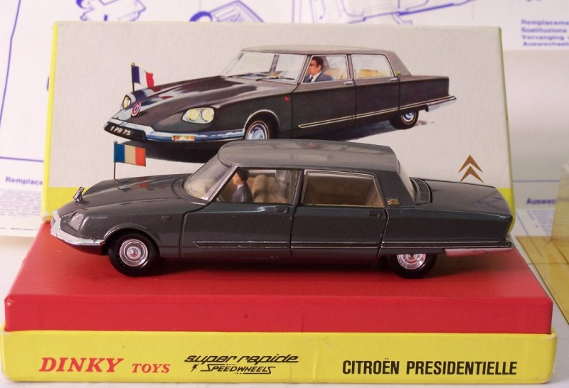 Picture Gallery for Dinky 1435 Citroen Presidentielle