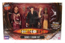 Picture Gallery for Character Options 03327 Dr Who Series 1 Set