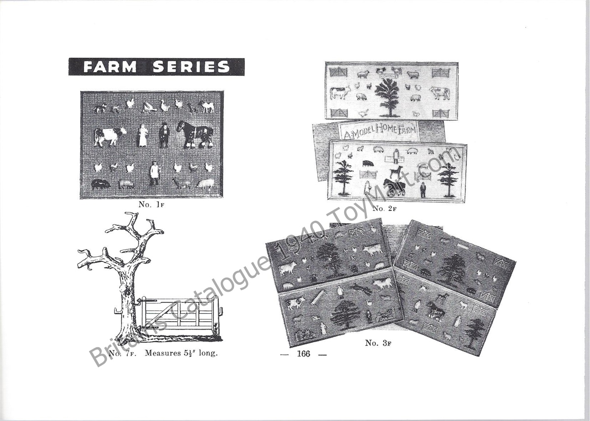 Picture Gallery for Britains Farm 1F Model Home Farm Set