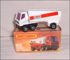 Picture Gallery for Matchbox 63d Freeway Gas Tanker