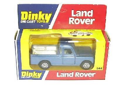 Picture Gallery for Dinky 344 Land Rover