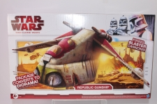 Republic Gunship 2002 Saga STAR WARS Attack of the Clones AOTC MIB