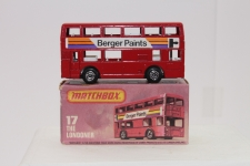 Picture Gallery for Matchbox 17g Londoner Bus (Berger)
