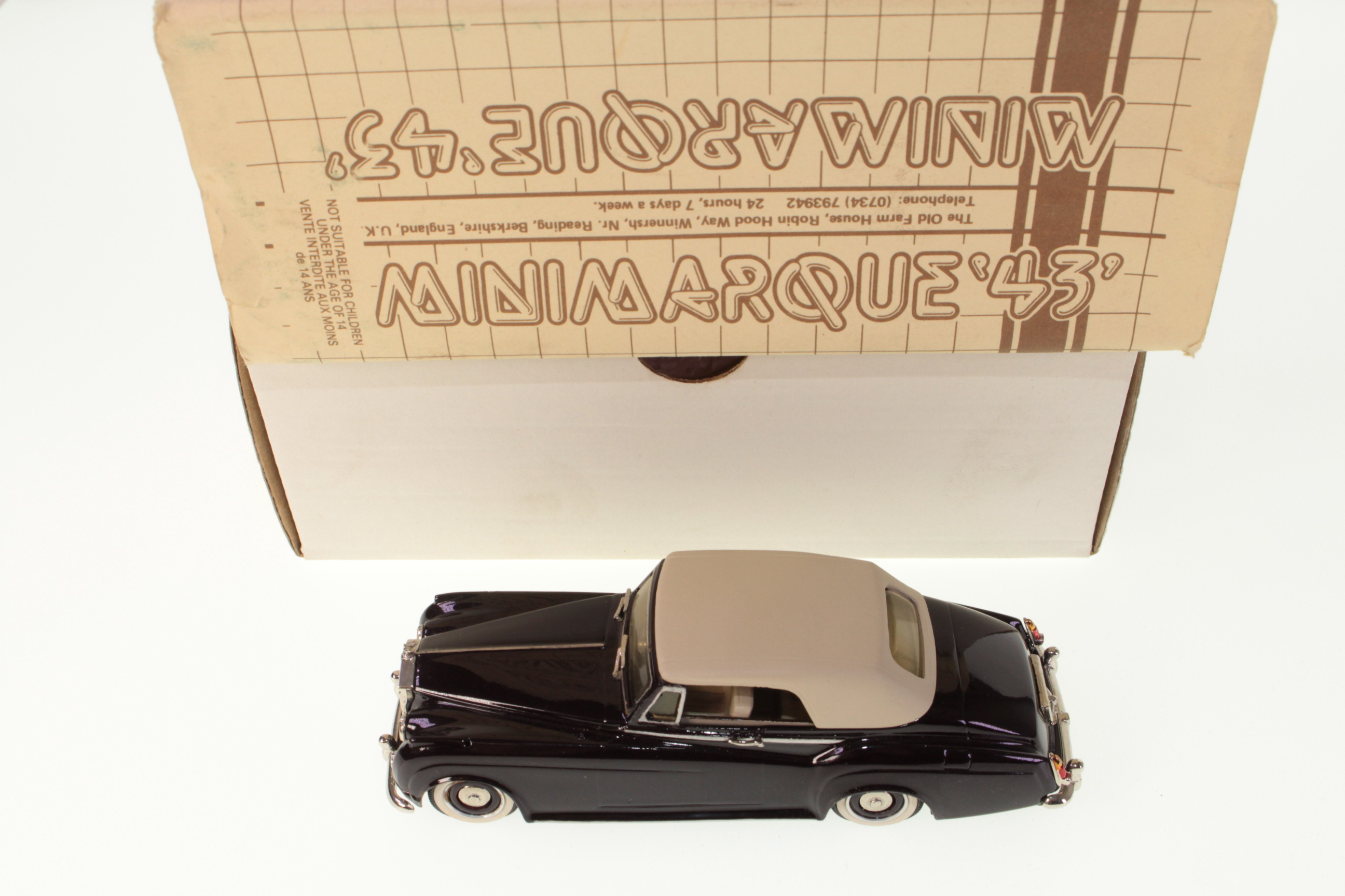 Picture Gallery for Minimarque 43 MM43SW3 Rolls Royce Silver Cloud