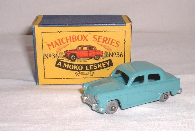 Picture Gallery for Matchbox 36a Austin Cambridge A50