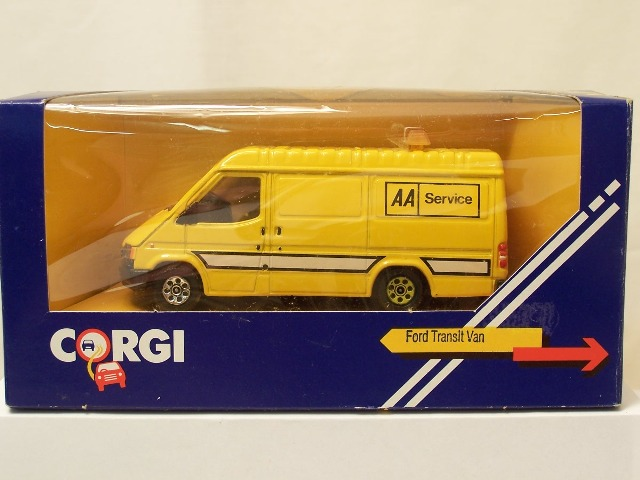 Picture Gallery for Corgi C656/5 Ford Transit  Van
