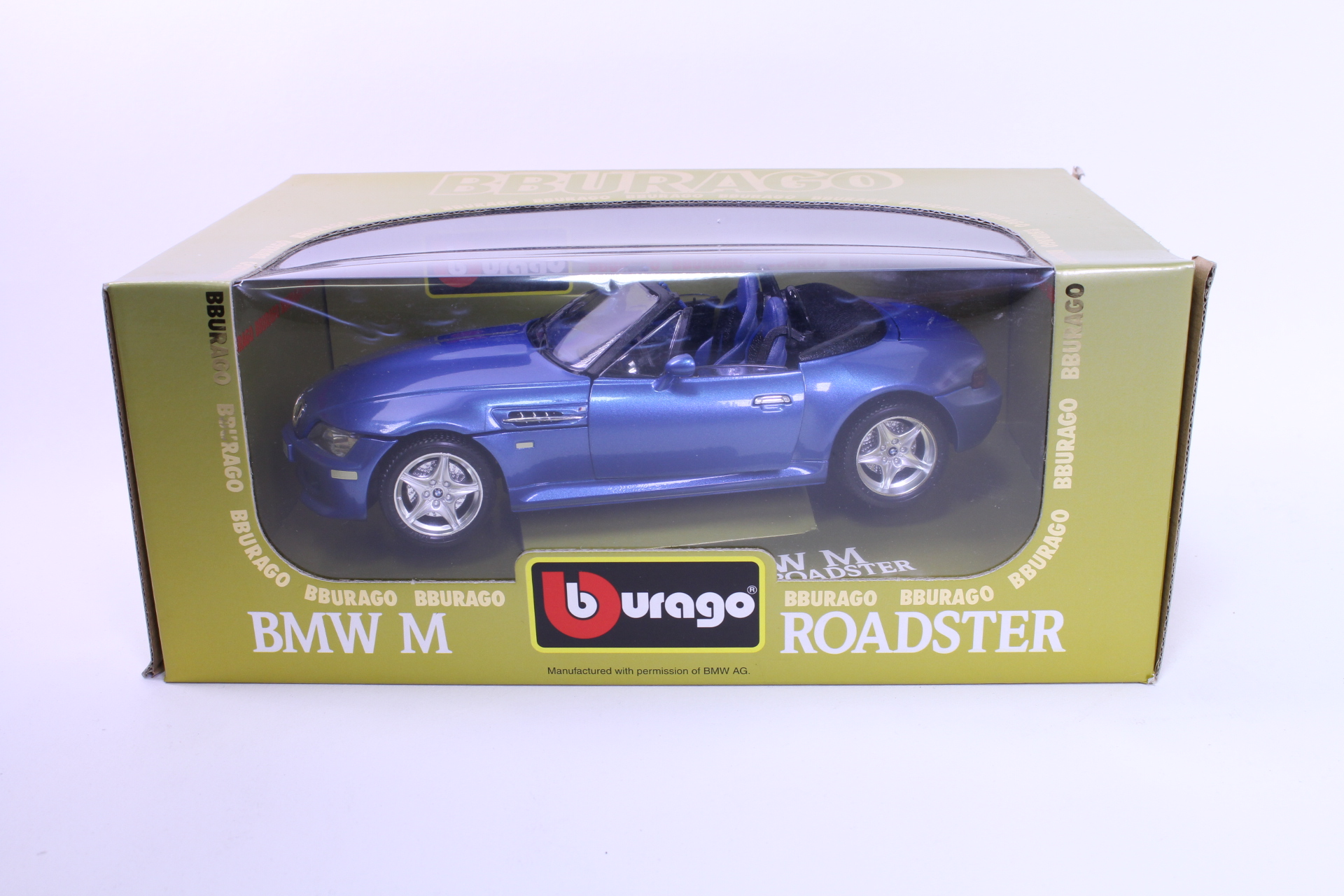Picture Gallery for Burago 3349 BMW M Roadster 1996