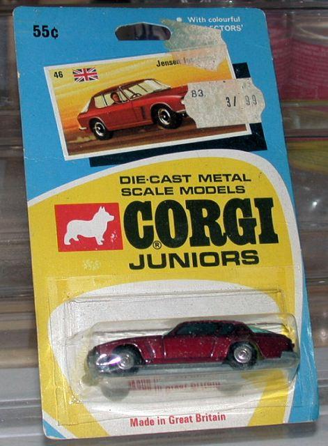 Picture Gallery for Corgi Juniors 46 Jensen Interceptor