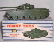 Picture Gallery for Dinky 651 Centurion Tank
