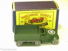 Repro Box Matchbox 1:75 Nr.67 Saladin Armoured Car