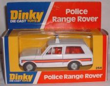 Police Range Rover