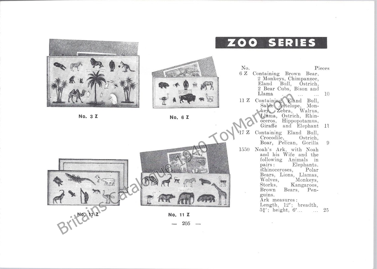 Picture Gallery for Britains Farm 3Z Zoo Animal Gift Set - 16 Piece