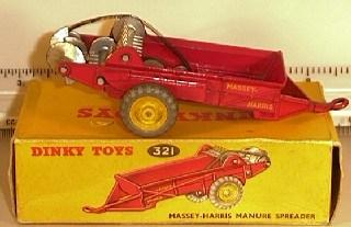 Massey Harris Manure Spreader