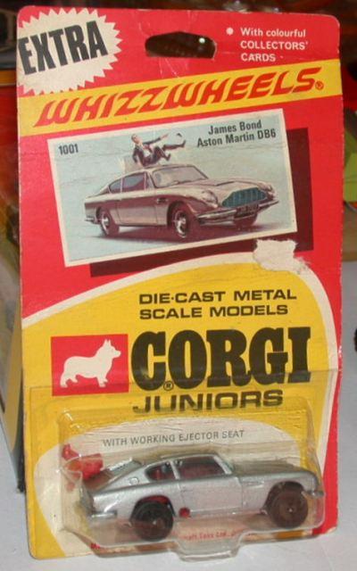 Corgi Juniors 1001, James Bond Aston Martin - Buy, Sell, Review ...