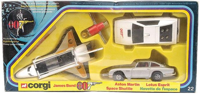 Picture Gallery for Corgi 22 James Bond Set