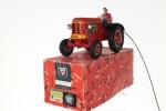 Remote Spring Driven Tractor