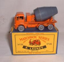 Picture Gallery for Matchbox 26b Foden Cement Mixer
