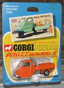 Picture Gallery for Corgi Juniors 1 Reliant TW9 Pick - Up