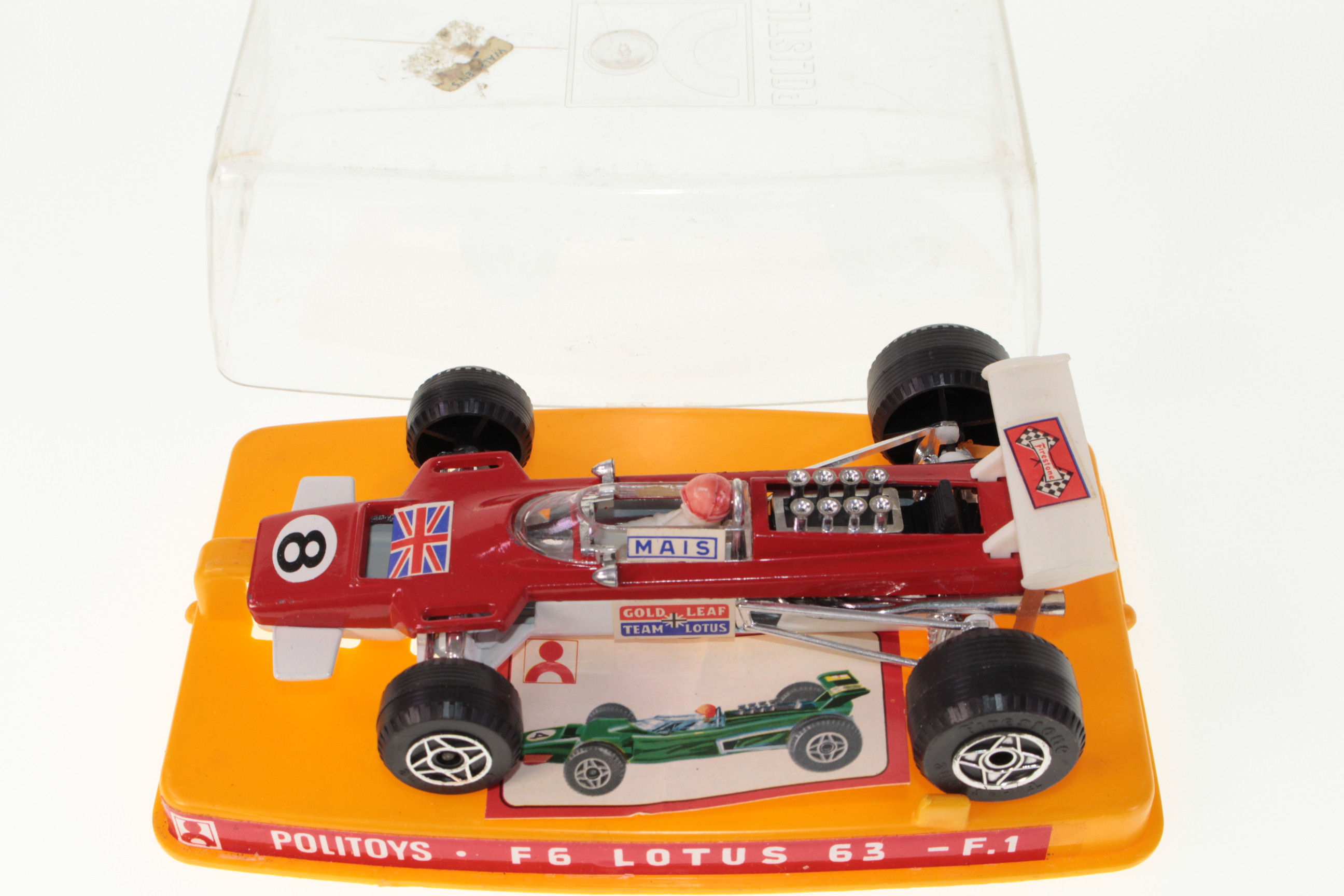 Politoys F6, Lotus 63 F1 - Buy, Sell, Review & Free Price Guide #25806