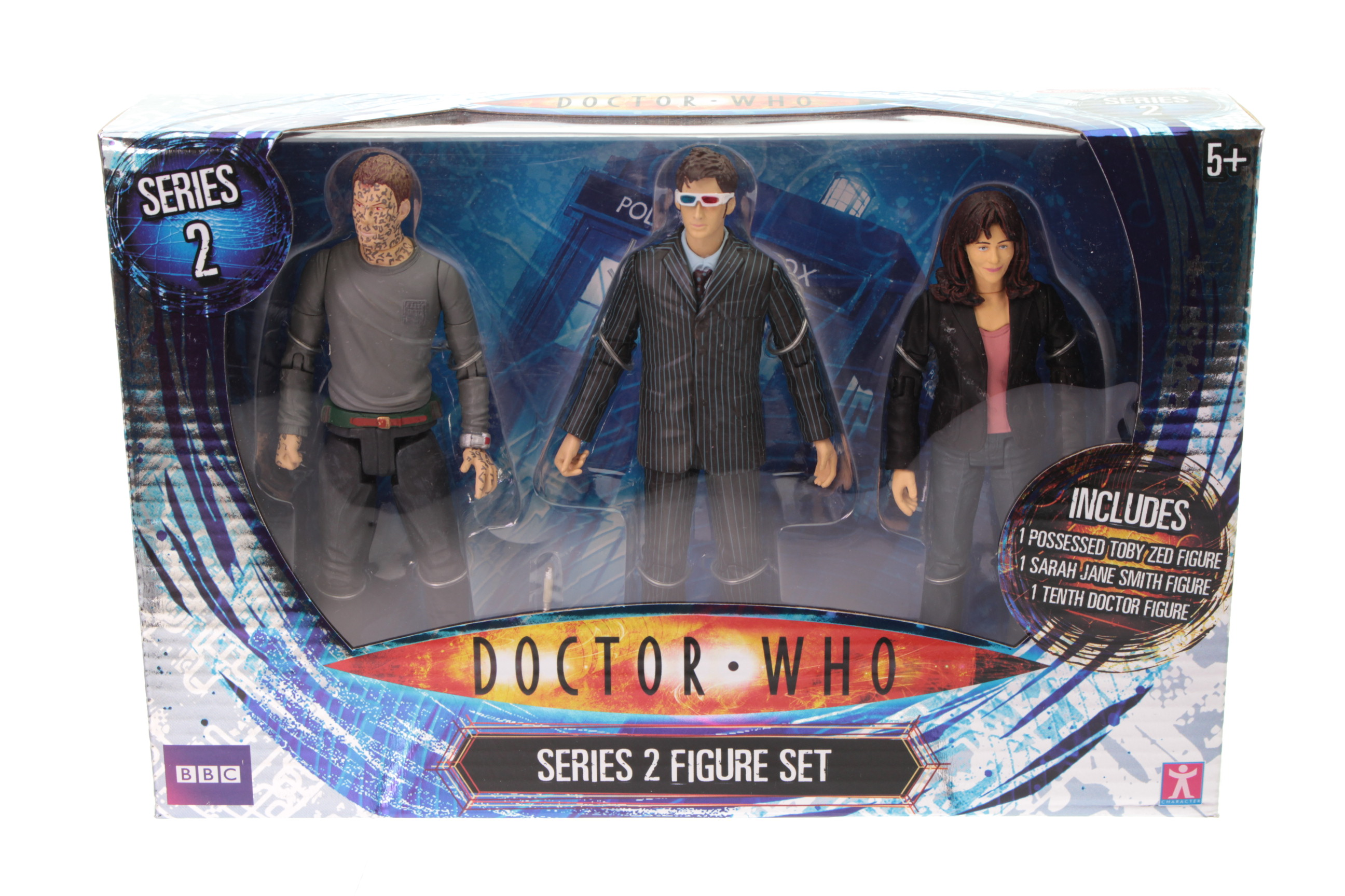 Picture Gallery for Character Options 03617 Dr Who Series 2 Set
