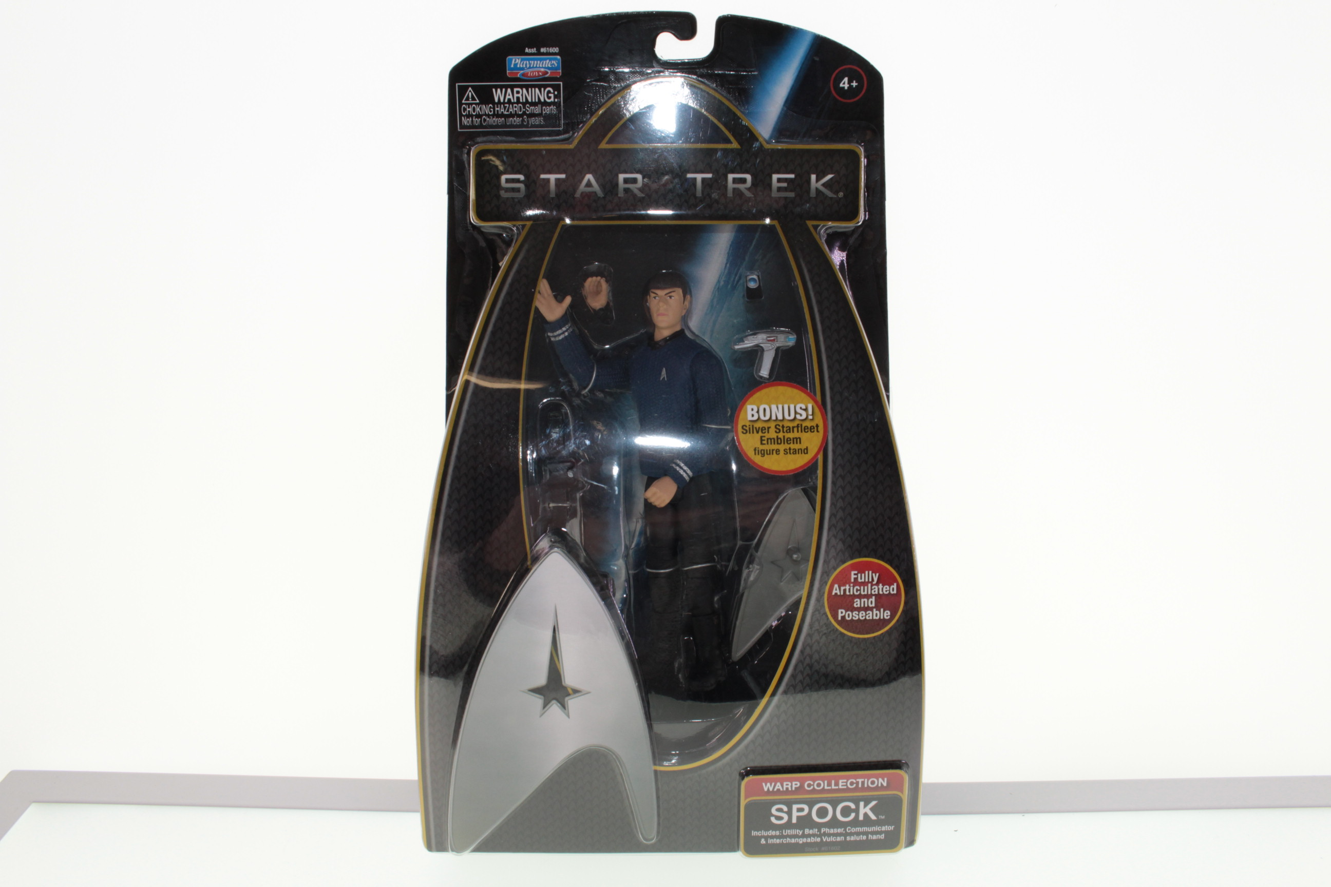 Picture Gallery for Playmates 61602 Star Trek - Spock