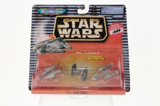 Star Wars ACTION FLEET DISPLAY GOLD LETTERING  Stand ONLY Micro Machine