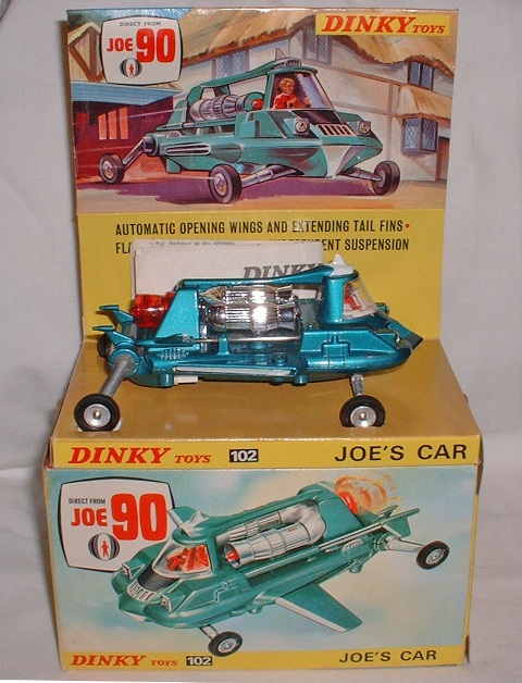 Picture Gallery for Dinky 102 Joe's Car
