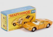 Matchbox 33c Lamborghini Miura clear replacement window unit