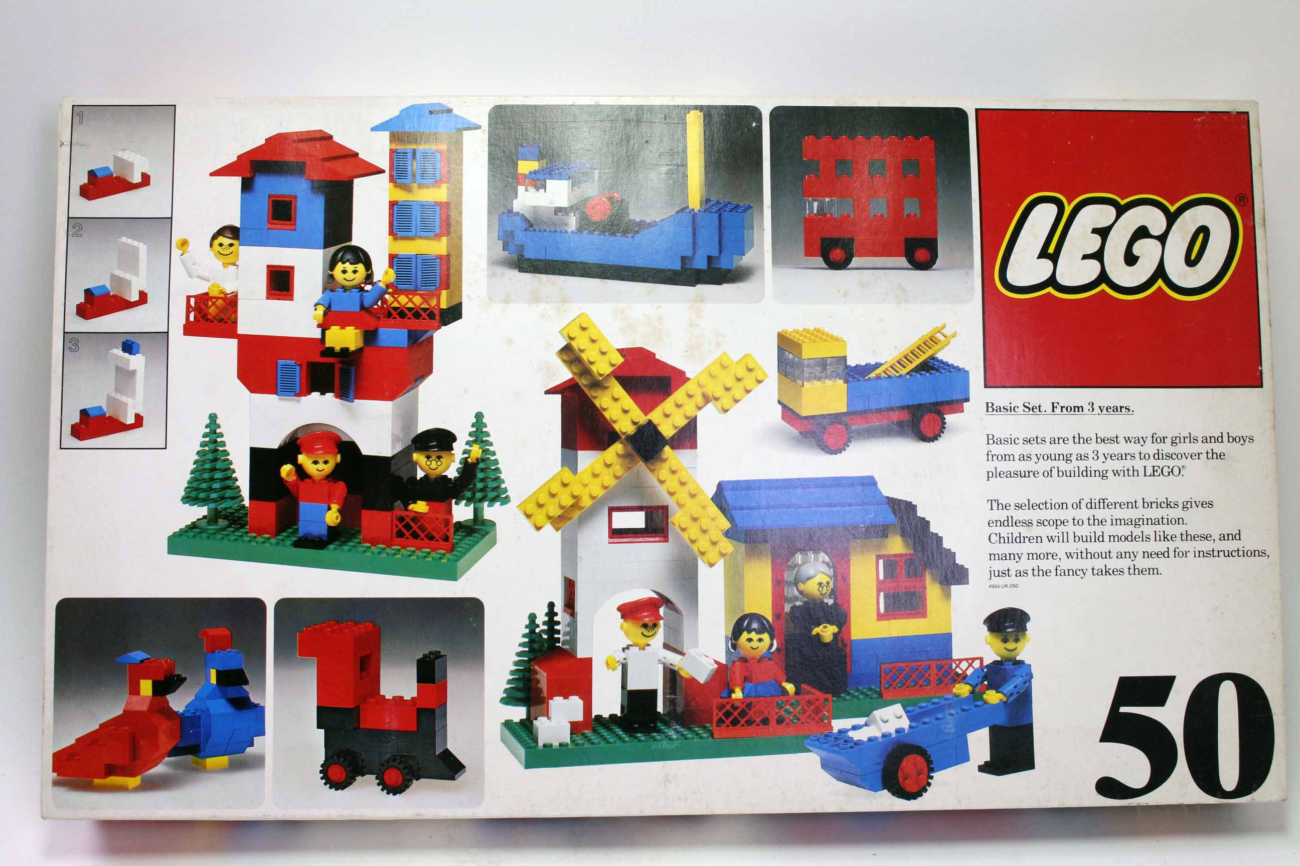 Picture Gallery for Lego 50 1976 Basic Set