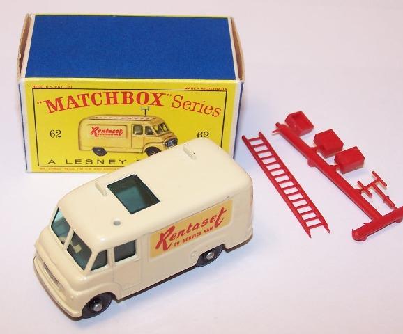 Picture Gallery for Matchbox 62b Commer Rentaset Van