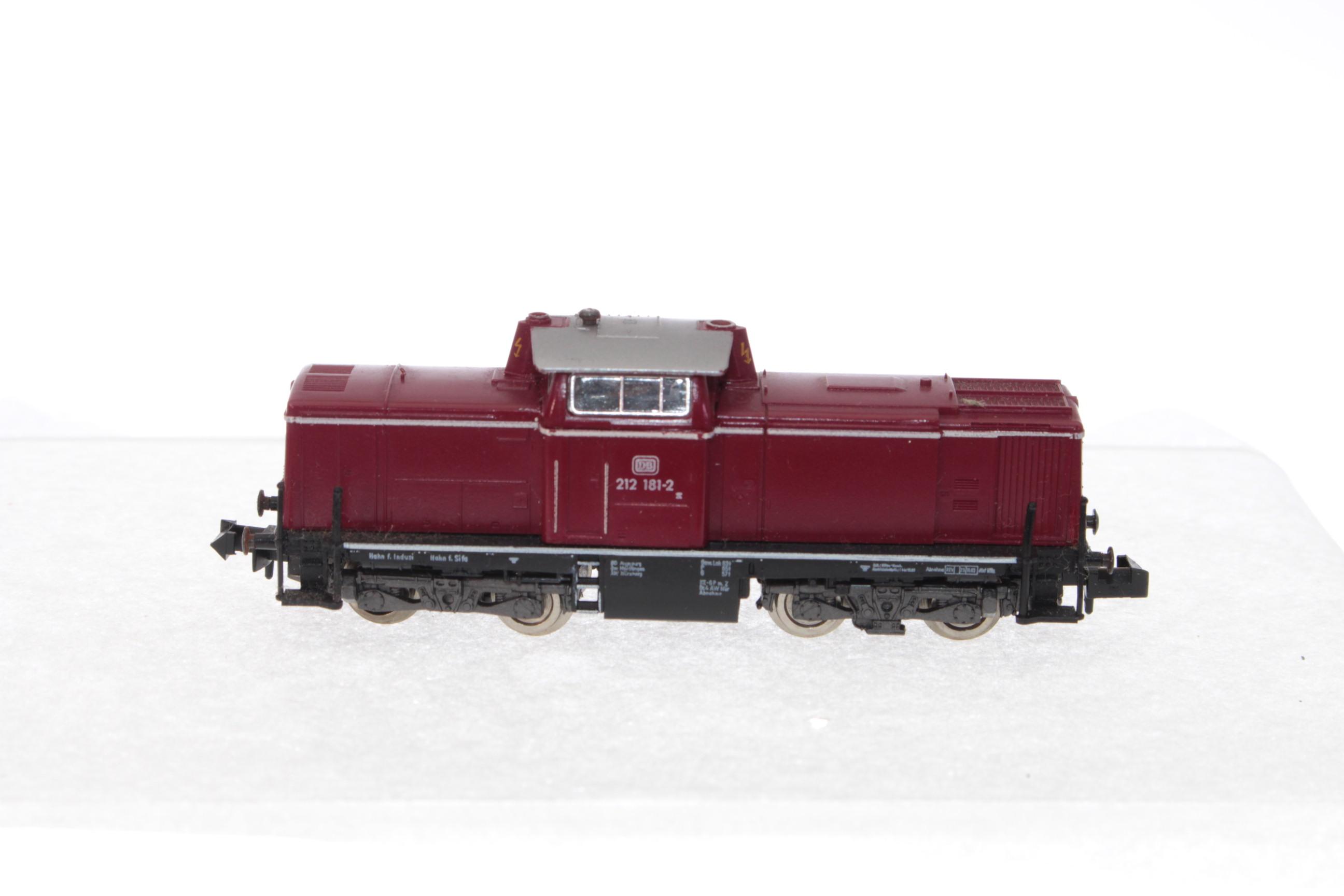 Picture Gallery for Fleischmann 7230 Diesel Locomotive