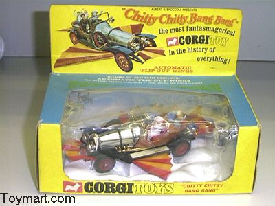 Picture Gallery for Corgi 266 Chitty Chitty Bang Bang