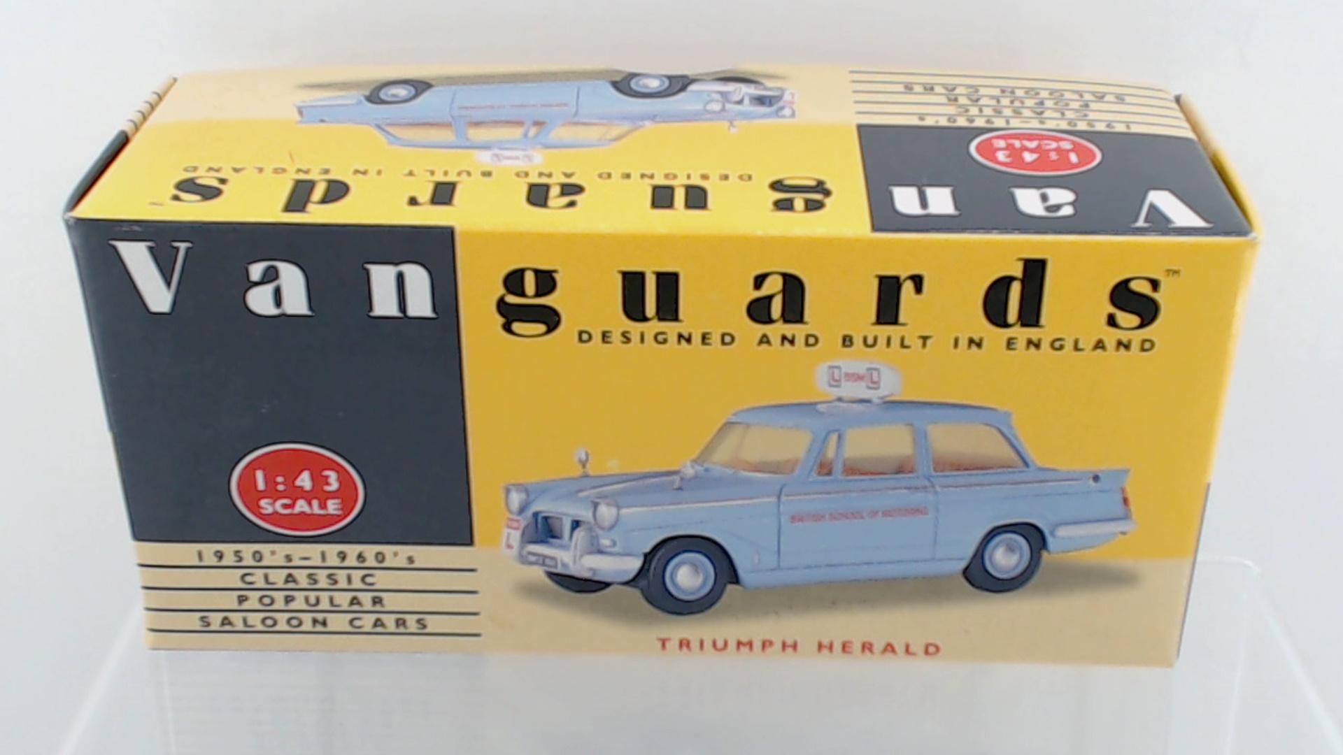 Picture Gallery for Vanguards VA5001 Triumph Herald