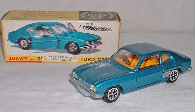 Repro Box Dinky Nr.165 Ford Capri Speedwheels