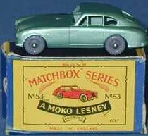 Picture Gallery for Matchbox 53a Aston Martin DB2-4 MkI